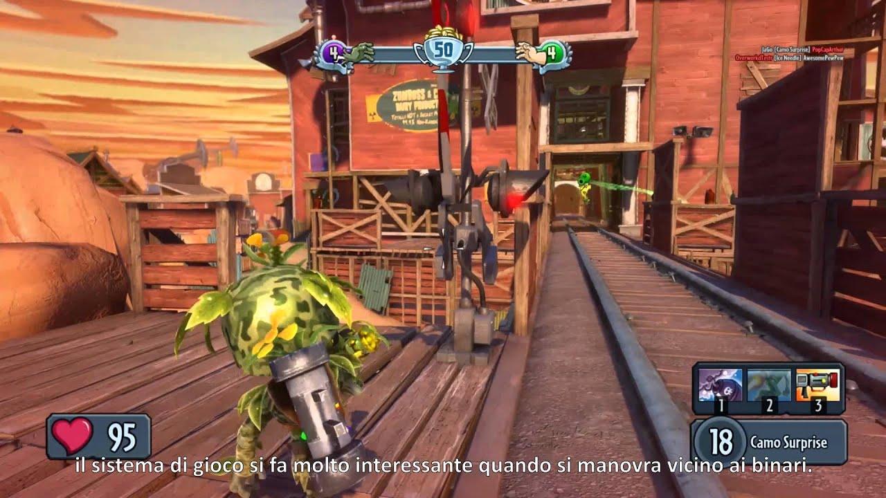 EA Plants vs. Zombies Garden Warfare PC   Diario Sviluppatori ...