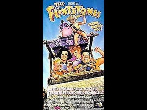 Opening To The Flintstones 1994 Vhs Youtube