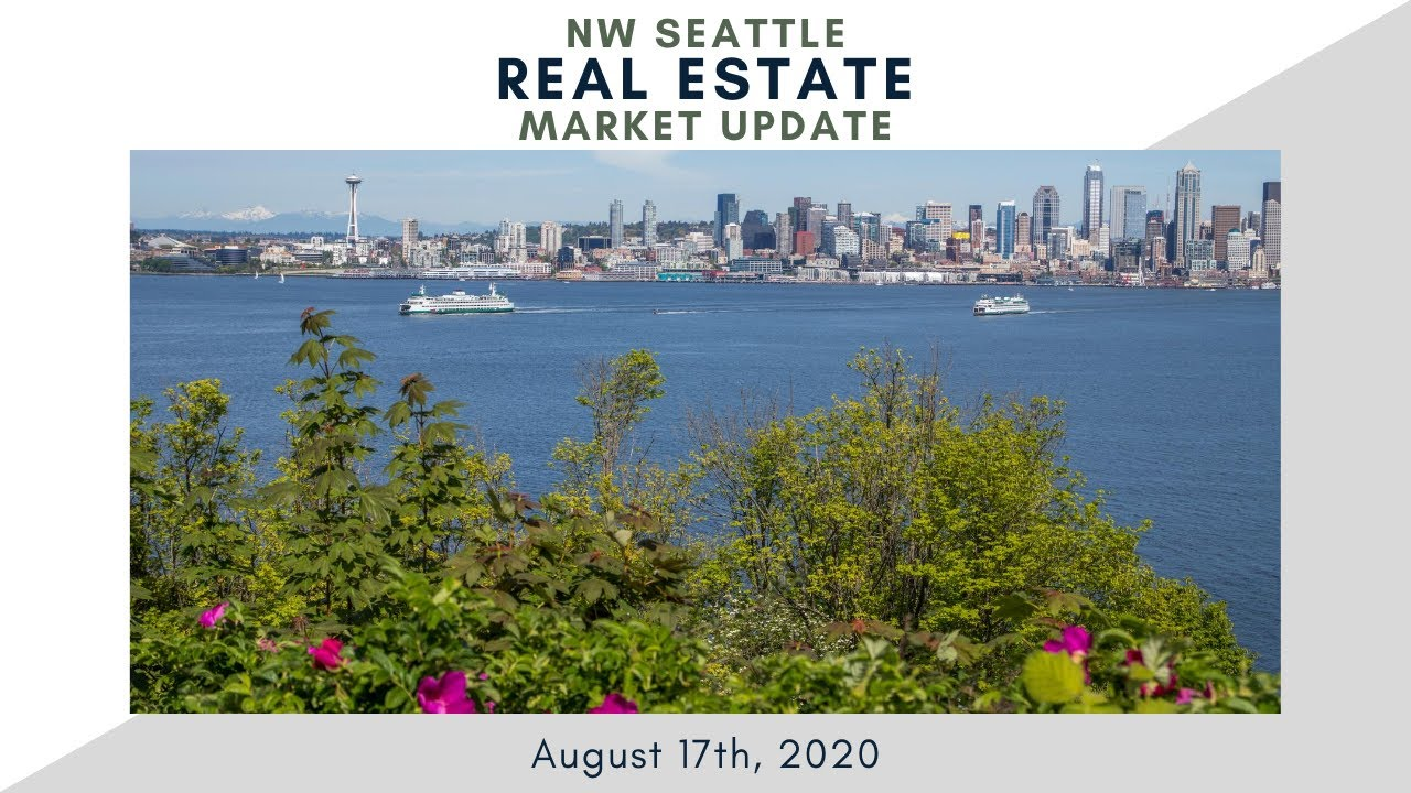 Monday NW Seattle Real Estate Market Update | August 17th, 2020