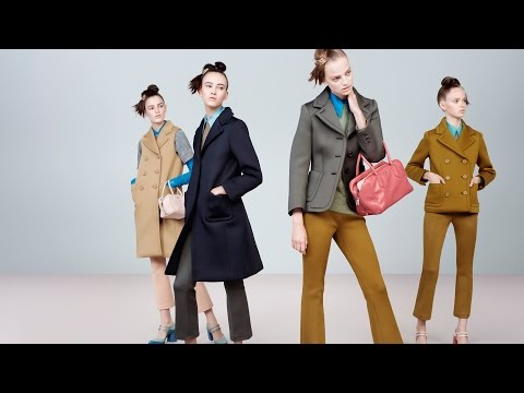 Prada Womenswear Fall/Winter 2015 Advertising Campaign