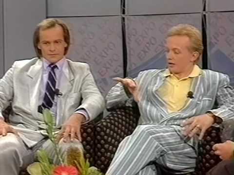 """TV segment on """"Living"""" with Ian Skippen and Leigh Muirhead (1988)"""