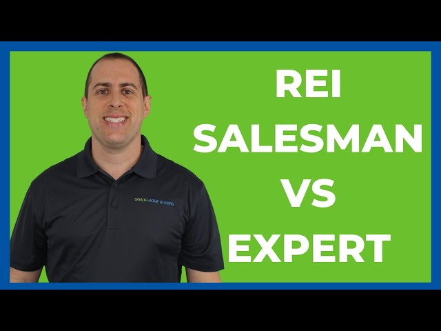 Are You A REI Salesperson or Trusted Expert?