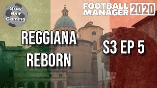 FM20 S3 EP5 Cesena Then Parma in Coppa Italia Reggiana Reborn Football Manager 20