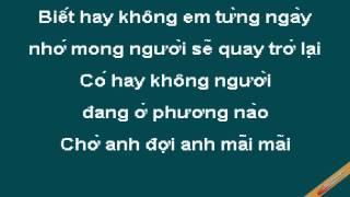 Mai Yeu Minh Anh Karaoke - Thùy Chi - CaoCuongPro