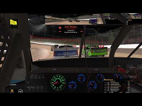 iRacing.com iWCR Bucked Up Series #88 Onboard @Eldora Speedway DIRT!!!