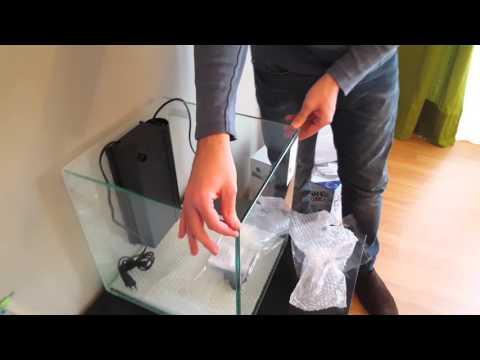 UNBOXING Nano Cubic 40 Aquatlantis- AQUARIUM CENTROFAMA (Murcia)