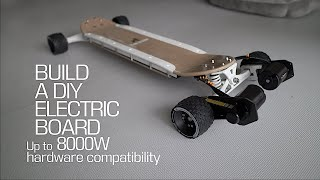 #106 Build a DIY electric board 2021 for street type