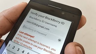 blackBerry ID: BlackBerry Z10 - Official How To Demo