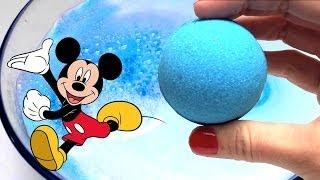 Mickey Mouse Bath Balls Surprise Eggs Bath Bomb Powder Soap ディズニー バスボール ワールドパレード