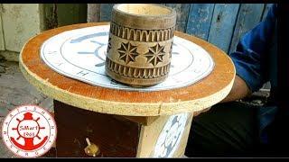 Демонстрационный поворотный столик из дерева своими руками