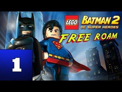 LEGO: Batman 2 - DC Super Heroes (Free Roam) - Part 1 - Road to 100%