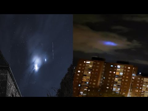 Strange blue lights are appearing in the skies around the world