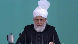 Sermon du vendredi 23-01-2015: Défense de l'honneur du Saint Prophète Muhammad (s.a.w.)