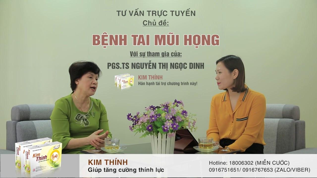 Tại sao lại bị ù tai và bị ù tai có nguy hiểm không? PGS.TS Nguyễn Thị Ngọc Dinh tư vấn
