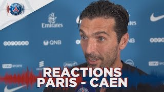 REACTIONS : PARIS 3 - 0 CAEN
