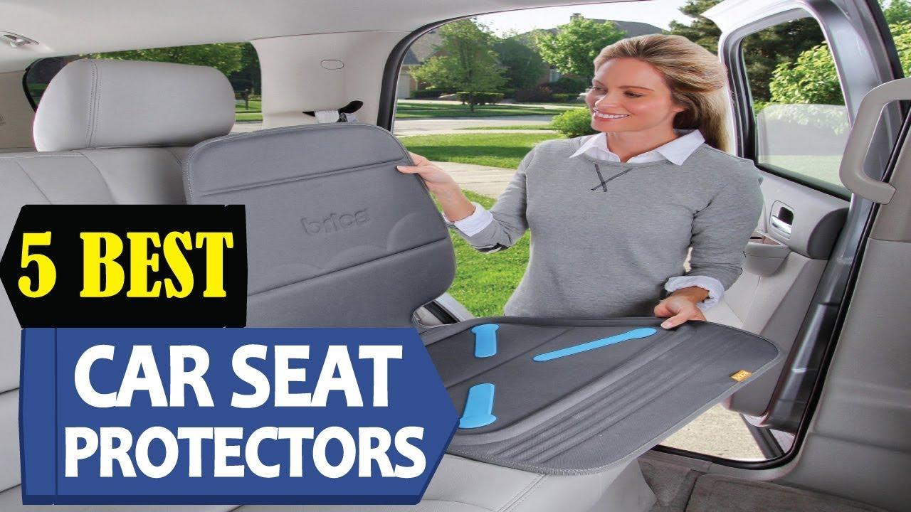 5 Best Car Seat Protectors 2018
