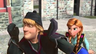 Download lagu [MMD] Frozen Kristoff and Anna - Anything You Can Do