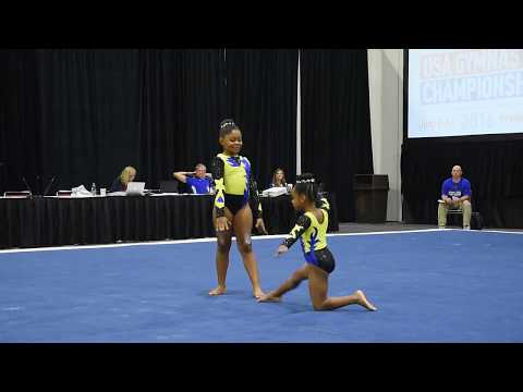 S.A.C.S Nationals Level 6 pair Joi & MaCi