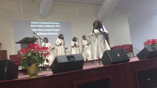 Heaven is My Goal... The New Ebony Gospel Singers of Baltimore