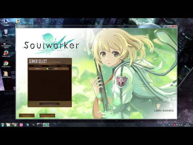 [Soul Worker] How to install and use the English Patcher + Common Error fixes