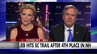 Jeb Hits SC Trail After 4th Place in NH