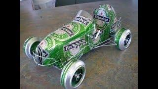 Прикольные фото интересных авто, сделанных из пивных банок