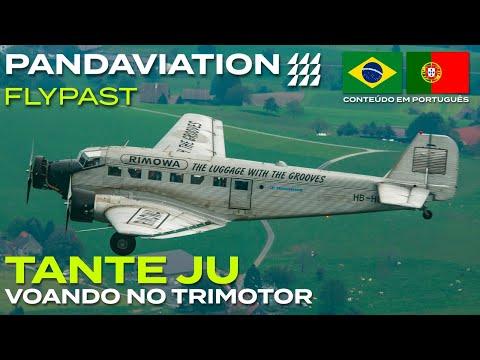 Tante Ju: voando no Junkers Trimotor