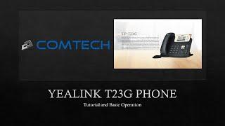 Yealink T23G