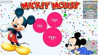 AGAR.IO  Mickey Mouse
