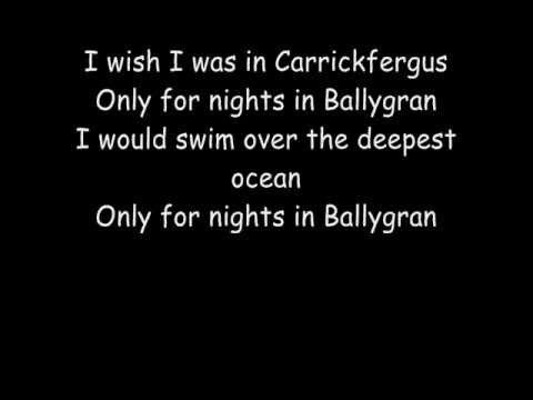 Carrickfergus - The Dubliners (Cover)