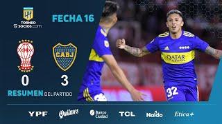 #TorneoSocios | Fecha 16 | resumen de Huracán - Boca