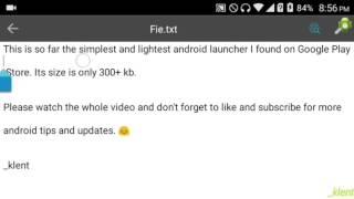 ap15 Android Launcher | See Description | 480p