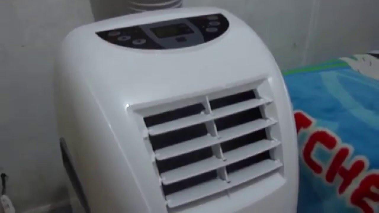 3b7ab81ba Ar Condicionado Portatil Home Plus Schulz 10000btus - YouTube