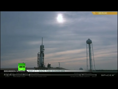 SpaceX Falcon 9 rocket launch in Florida (postponed after last-minute abort)