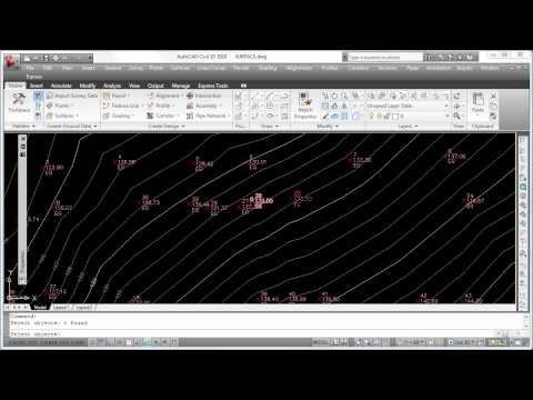AutoCad Civil 3D - Point Groups