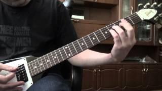 ORION Metallica. Как играть на гитаре. РИФ