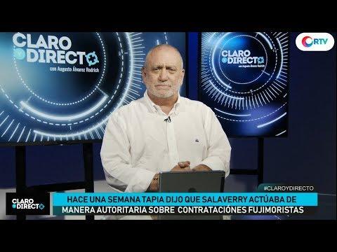 Los opositores de Vizcarra | Claro y Directo con Augusto Álvarez Rodrich