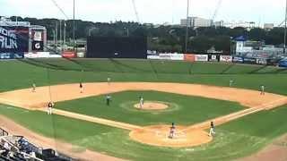 9/6/15 Tampa Yankees Joey Falcone 1st HR
