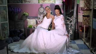 Фотосессия новой коллекции свадебных платьев от Denegina & Dzhoga