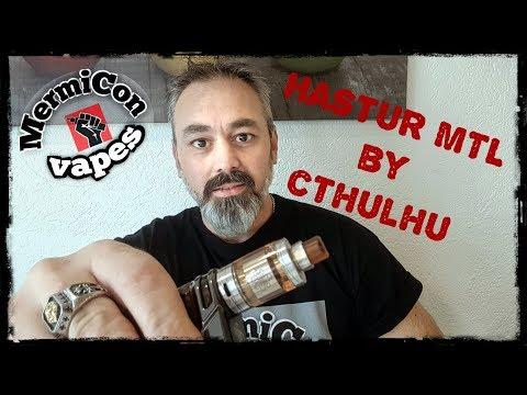 """Hastur MTL RTA by Cthulhu """"Ελληνική Παρουσίαση"""" & Στήσιμο """"Greek review"""""""
