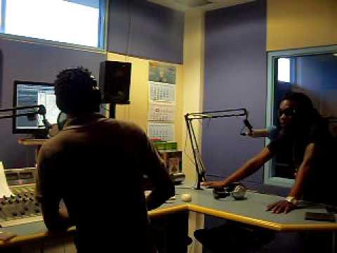 JairzinhO @ Radio 10 (Suriname)