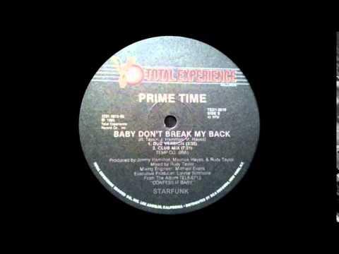 STARFUNK Prime Time - Baby don't break my back - Funk 1985