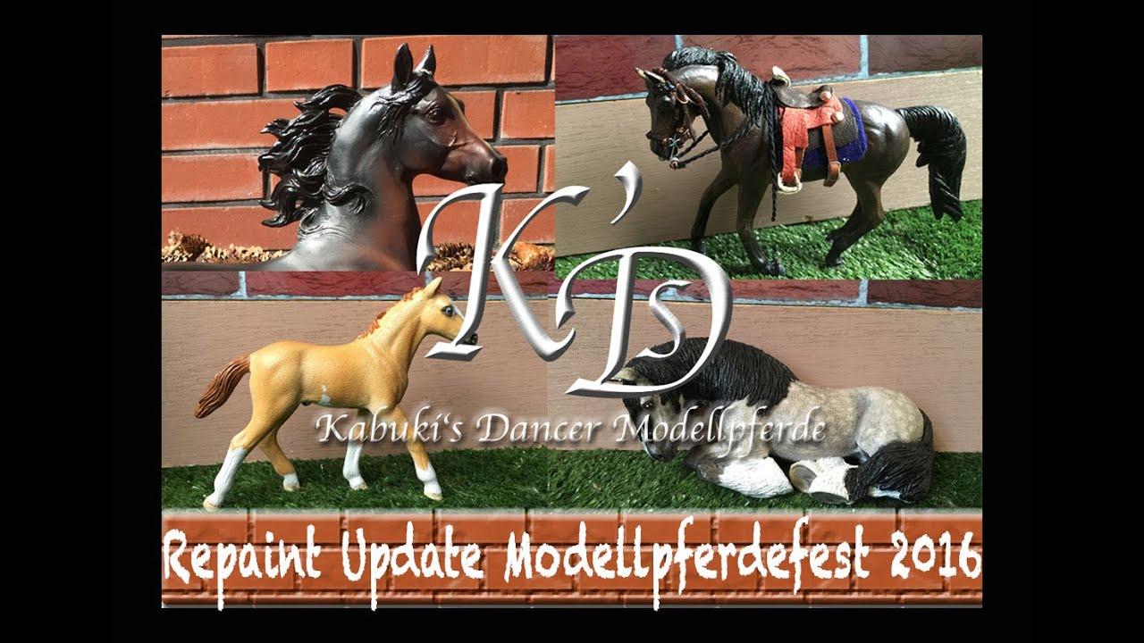 Repaint Update Modellpferdshow 2016