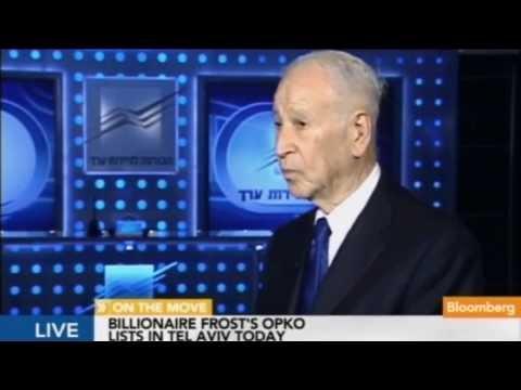 Phillip Frost On Bloomberg TV - 21.08.2013