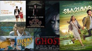 Video 6 Film Indonesia Tayang Dibioskop Bulan January 2018 download MP3, 3GP, MP4, WEBM, AVI, FLV April 2018