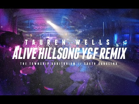 Alive Remix // Tauren Wells // The Township Auditorium, SC (4K)