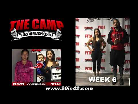 Bakersfield Weight Loss Fitness 6 Week Challenge Results - Miriam V.