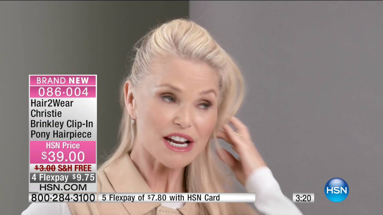 Hsn Beauty Expert Event Featuring Christie Brinkley Hair2wear