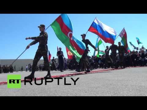 «Бессмертный полк»: Баку, Азербайджан