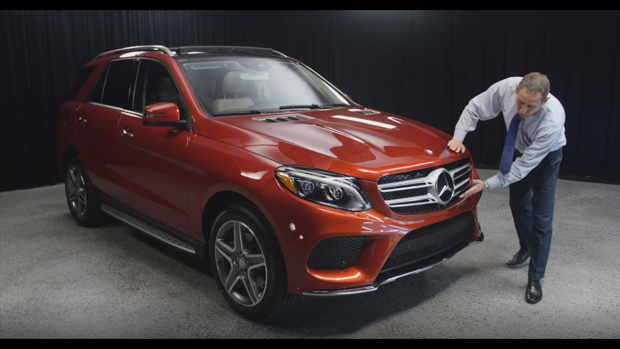 Mercedes Benz V Class >> designo Cardinal Red color combo - 2017 Mercedes-Benz GLE ...